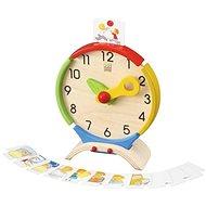 Plan Toys Hodiny Nauč se čas - Vzdělávací hračka