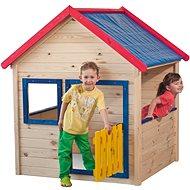 Woody Zahradní domeček s barevným lemováním - Dětský domeček