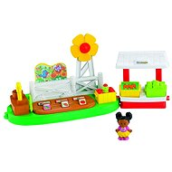 Little People - Vegetable garden with stand