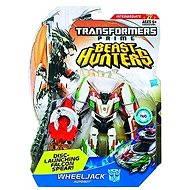 Transformers - Lovci příšer se střílecími projektily WheelJack Autobot