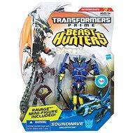 Transformers - Lovci příšer se střílecími projektily Soundwave Decepticon