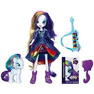My Little Pony Equestria Girls with a pony - Rarity
