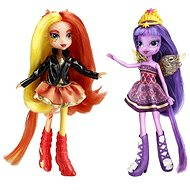 My Little Pony Equestria Girls - DUO Sunset Shimmer und Twilight Sparkle - Puppe