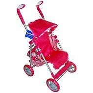 Der Buggy Golf - rosa Streifen