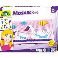 Mosaik groß für Mädchen - Kreativset