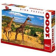 Dino Two giraffes