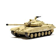 Tank Russian T-72 M1 Desert Yellow 1:72 - RC model