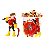 Teddies Set of small firefighter's cannon on water - Play Set