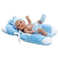 Teddies doll / baby blue solid body