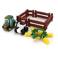 John Deere – Hrací set kravička s traktorem - Auto