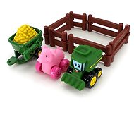 John Deere - Playing set of piggy bank with combine harvester - Toy Vehicle
