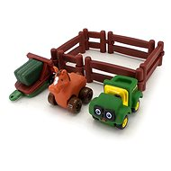 John Deere – Hrací set kůň s multikárou - Auto
