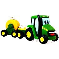 John Deere – Traktor se zemědělským vozíkem - Auto