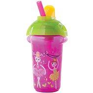 Munchkin - Click Lock non-flowing mug with pink tilting pocket - Mug