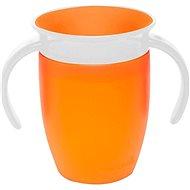 Munchkin – Juniorský netekoucí hrneček 360°s oušky - oranžový