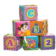 Playgro - Soft foam cubes of pink