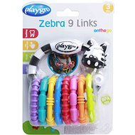 Playgro - Zebra with new rings - Interactive Toy