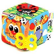 Playgro - Throwing cube with a bite - Interactive Toy