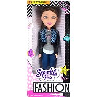 Sparkel Girlz Fashion Doll with pants, green / red