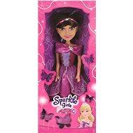 Sparkle Girlz Princezná 50 cm v šatách, ružová / modrá