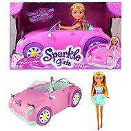 Sparkle Girlz doll in a car
