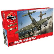 Airfix Model Kit A03087 letadlo – Junkers Ju87B-1 Stuka - Plastový model
