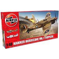 Airfix Model Kit A05129 letadlo – Hawker Hurricane Mk.I Tropical - Plastový model