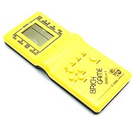 Teddies Brick Game Tetris - Yellow - Game Console