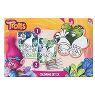 Trolls (Trolls) set 2 painting canvases