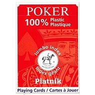 Piatnik 100% Plastic poker velký index - Karetní hra