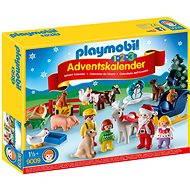 """Playmobil 9009 Adventný kal. """"Vianoce na statku"""" (1.2.3) - Hračka pre najmenších"""