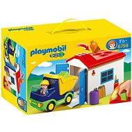 Playmobil 6759 Náklaďáček s garáží (1.2.3)