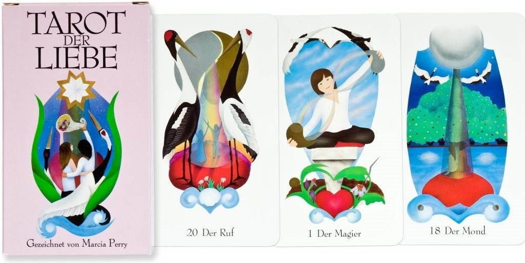 Piatnik Tarot der Liebe - Karetní hra