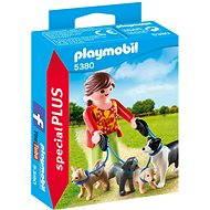PLAYMOBIL® 5380 Venčitelka Hunde - Baukasten