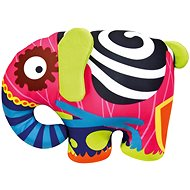 Bino Barevný slon - Plyšová hračka
