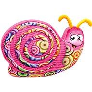 Bino Šnek barevný - Plyšová hračka
