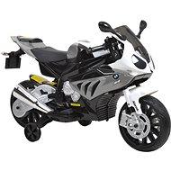 Dětská motorka BMW – bílo-šedivá - Elektrická motorka
