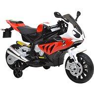 Dětská motorka BMW – bílo-červená - Elektrická motorka
