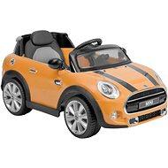 Dětské autíčko Mini Copper – žlutý - Elektrické auto