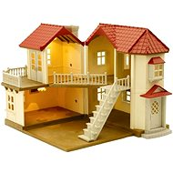 Sylvanian Families Town house with lights