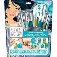 Style Me Up - Perfect nails 2v1 blue-green color