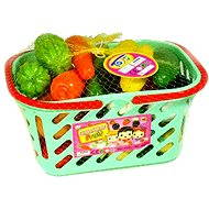 Fruits and vegetables in a basket - Play Set