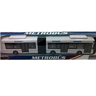 Articulated bus white