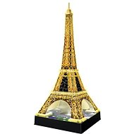 Ravensburger 3D Eiffel Tower - Night Edition - Puzzle