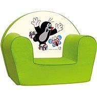Bino Křesílko zelené - Krteček - Dětský nábytek