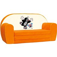 Bino Mini-orange Sofa - Mole