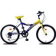 Olpran MTB Lucky žluto/modré - Dětské kolo