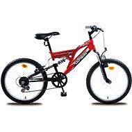 Olpran MTB Buddy červeno/černá - Dětské kolo