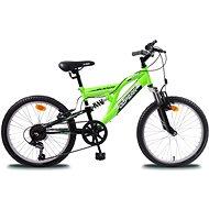 Olpran MTB Buddy černo/zelené - Dětské kolo