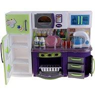 Kitchenette mini violet-green